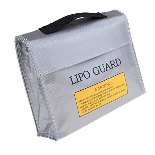 VANKOA Lipo Battery Safe Tasche Schutztasche Aufbewahrungstasche, aus Fiberglasgewebe