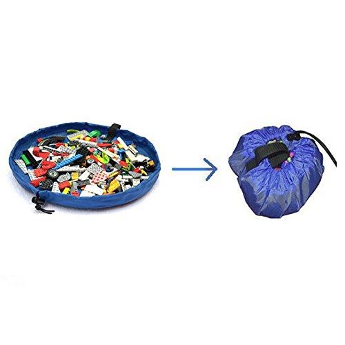 ryadia (TM) Produit Nouveau portable Mini Sac de rangement rond Multifuctional Sac de rangement pour enfants Lot de jouets de rangement enfant Poupées portable