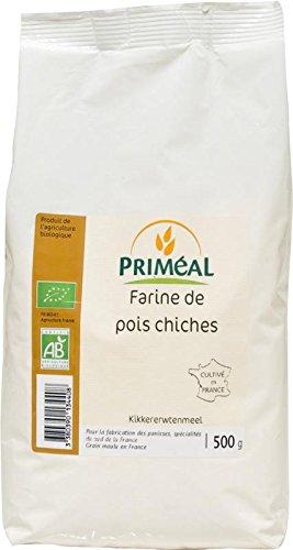 Priméal Farine de Pois Chiches France 500 g