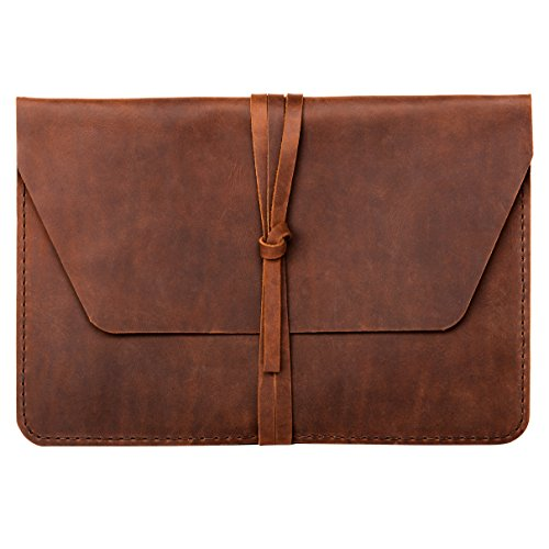 hecho. Leather Sleeve Fernando for MacBook Pro 16' (2019) & 15' Retina - Handmade from Leather (Cover, Bag, Case, Protection)