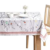Maison d' Hermine Fairy Christmas 100% Cotton Tablecloth for Kitchen Dining | Tabletop | Decoration...