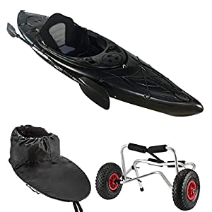 Cambridge Kayaks sit in kayak single canoe sea river fishing starter pack