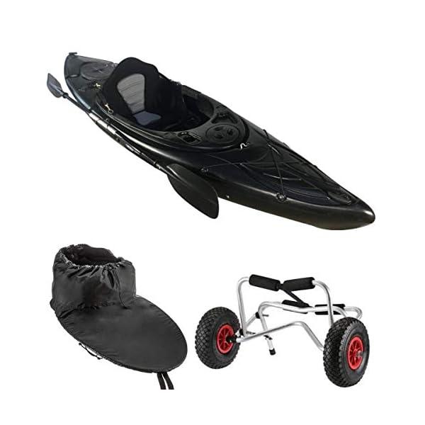 Cambridge Kayaks sit in kayak single canoe sea river fishing starter pack