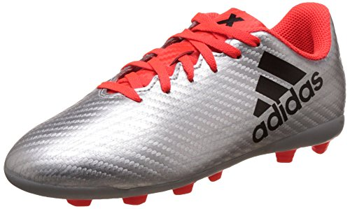 adidas Herren X 16.4 FXG J Fußballschuhe, Grey (Plamet/Negbas/Rojsol), 38 2/3 EU