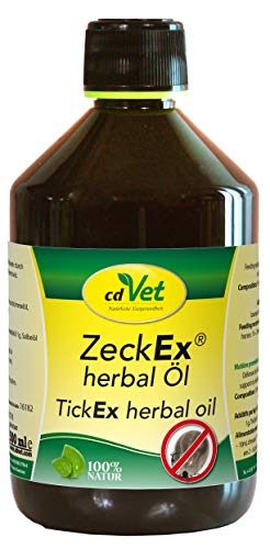 cdVet Naturprodukte ZeckEx herbal Öl 500ml