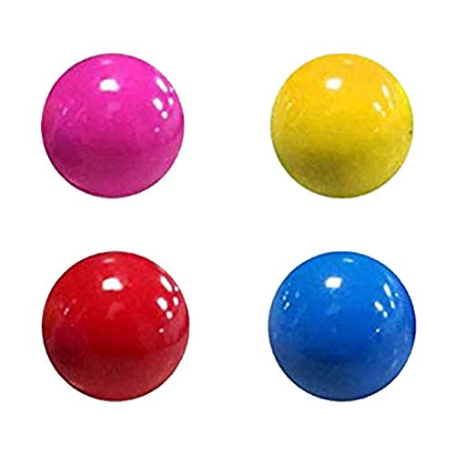 4PCS Sticky Balls Fluorescent Wall Globbles Stress Relief Decompression Toys for Anxiety Kids Adults 4.5cm