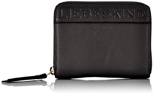 Liebeskind Berlin Damen URConnyW8-Urban Geldbörse, Black, 3.0x12.5x10.0 cm