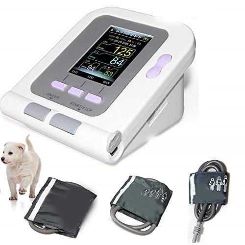 LWQ Numérique vétérinaire Tensiomètre Brassard de PNI, Chien/Chat/Animaux (avec 3 Manchettes) de Protection des Animaux