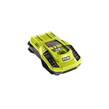 Ryobi P117 One+ 18 Volt Dual Chemistry IntelliPort Lithium Ion and NiCad Battery Charger (Battery Not Included, Charger Only)