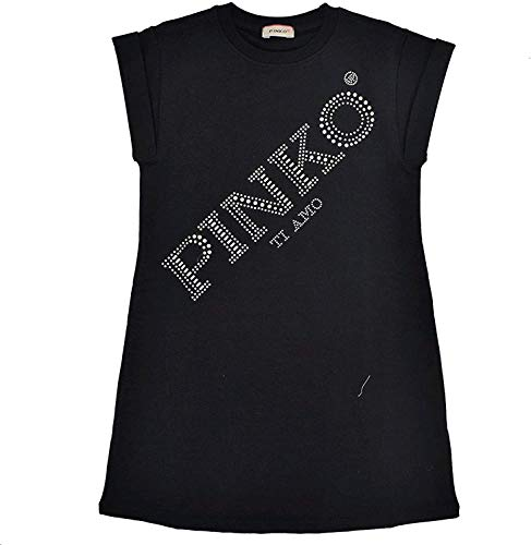 Pinko 024451 Vestito Bambino Nero 8Y