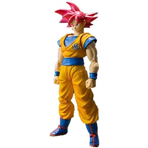 Dragon Ball Figura 2.020 Año 163 Pelo rojo Goku Dragon Ball Z Grandista Resolución de Soldados Son Gohan juguete, multicolor Geralt de PVC en caja regalo estatua 23cm LOLDF1