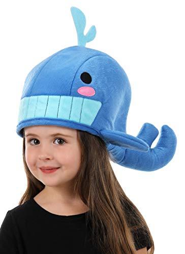 elope Cute Plush Blue Whale Hat