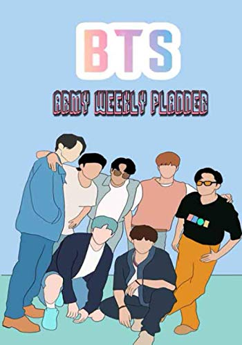 bts army weekly planner: weekly planner for bts army kpop ,...