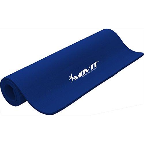 Movit XXL Pilates Gymnastikmatte, Yogamatte, phthalatfrei, 190 x 100 x 1,5cm, Royalblau