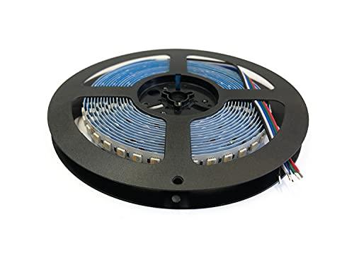 Alumino Tira LED - Mainz - 5 m - RGBWW - 4IN1-3000 K y 480 LED/5 m - CRI 80 - Autoadhesivo - IP20