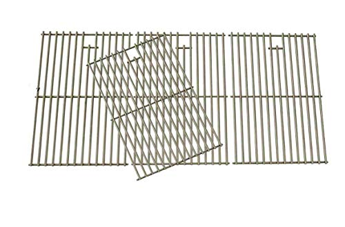 Replacement Cooking Grid for Brinkmann 810-1525-0, Lowes BG179A, BG179C & Master Forge Gas Models Set of 4 Grates Grids