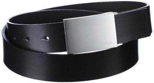 Strellson Premium Herren Gürtel 3500 Premium Belt 3,5 cm, Gr. 105, Schwarz (10)