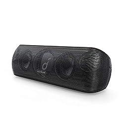 Anker Soundcore Motion+ Bluetooth スピーカー 防水 高音質 重低音 apt-X 30W出力 12時間連続再生 IPX7 パッシブラジエーター iPhone & Android 対応 ブラックの商品画像