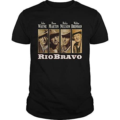 Rio Bravo Dean Martin Ricky Nelson John Wayne Walter Brennan Unisex T-Shirt Black S