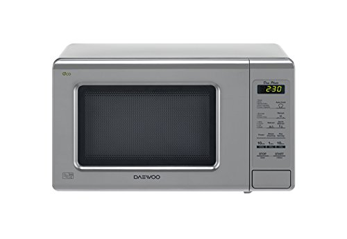 Daewoo KOR6M1RDSL Microwave Oven, 800 W, 20 liters, Silver