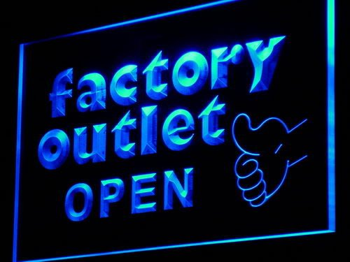 ADV PRO Enseigne Lumineuse i954-b Factory Outlet Open Shop Advertising Light Sign
