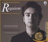 チマローザ: レクイエム (Cimarosa : Requiem / Jeremie Rhorer) [1CD+ボーナスCD&カタログ付] [輸入盤]