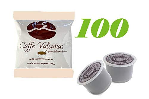 Caffè Vulcanus - 100 capsule AROMA VERO compatibili - Miscela Ischia