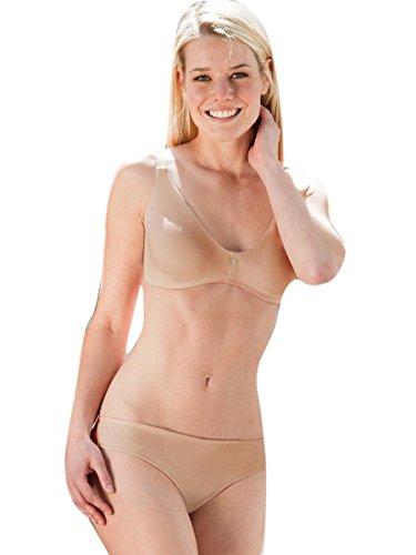 Preisvergleich Produktbild Damen-Slip Rio,  90% kbA-Baumwolle / 10% Elasthan von Engel Natur / GOTS (42 / 44,  86 - skin)