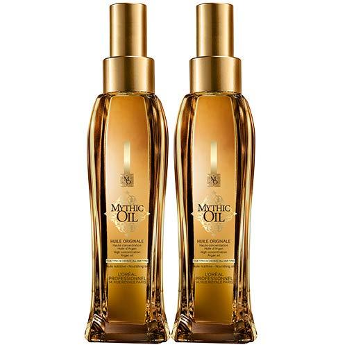 Mythic Oil Original, L'Oreal Professionnel - Lot de 2 flacons de 100 ml (total : 200 ml)
