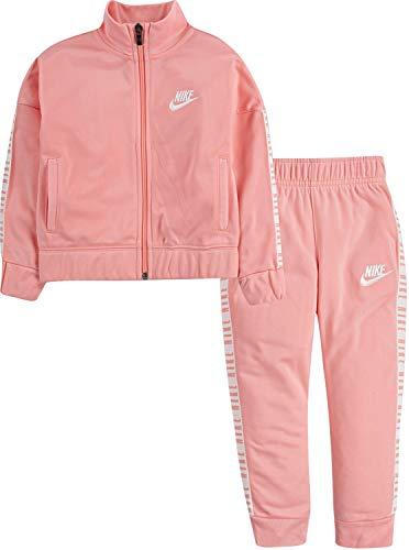 Nike Girls' 2-Piece Tracksuit Pants Set - Coral, 6X