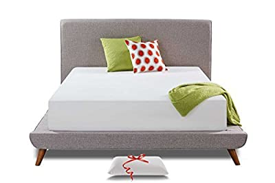 Live and Sleep Classic - Memory Foam Mattress - 12-Inch - Full/Double Size - Cool Bed in a Box - Medium Plush Firmness, Advanced Support, Bonus Luxury Form Pillow - CertiPUR Certified - Full