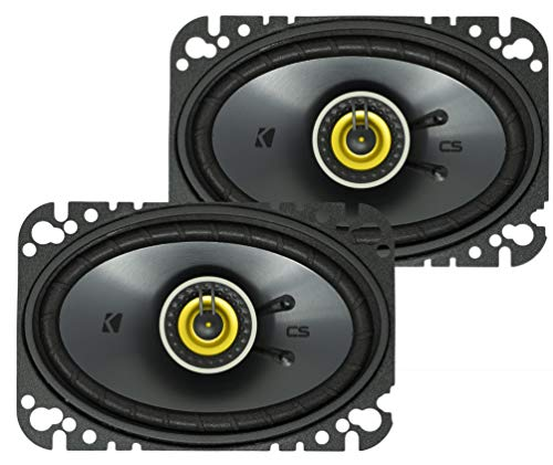 Kicker 46CSC464 Car Audio 4x6 Coaxial Full Range Stereo Speakers Pair CSC46