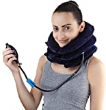 Cuscino gonfiabile per trazione cervicale gonfiabile, dispositivo di trazione cervicale, dispositivo di trazione cervicale, vertebra cervicale, rilassamento muscolare