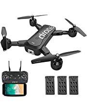 Goolsky SG700-D FPV RC Drone with Camera 4K HD Wide Angle Optical Flow Positioning Follow Me Altitude Hold Quadcopter