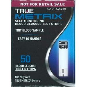 buy  True Metrix Blood Glucose Test Strips 50ct Box, ... Blood Test Strips