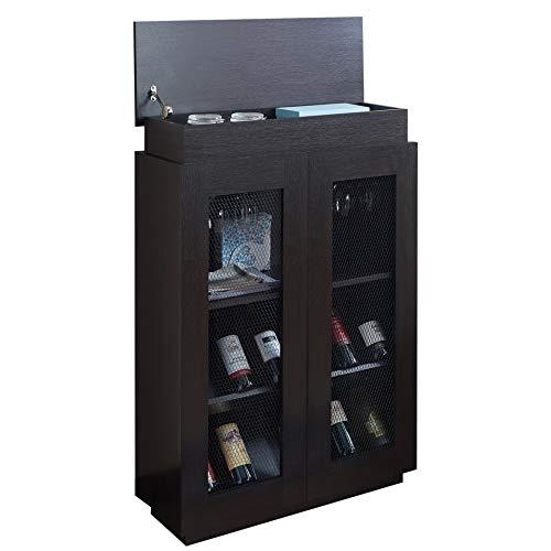 OTTMAR, mobiletto portabottiglie di Vino, Ideale per Cantine e Aree refrigerate, per Gli Amanti del Vino, H0001405