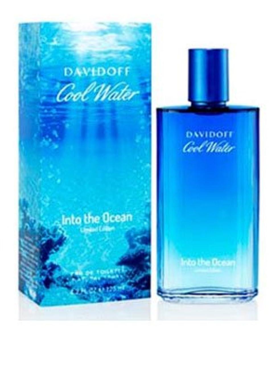 経過エッセンス指Cool Water Into The Ocean (クールウオーター イントゥー ザオーシャン) 4.2 oz (126ml) EDT Spray by Davidoff for Men