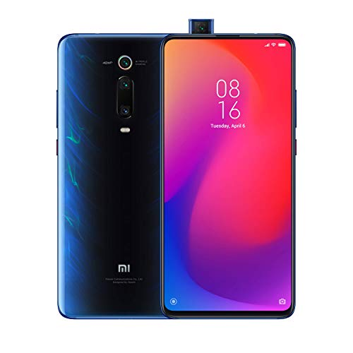 Xiaomi Mi 9T Pro Smartphone (16,23cm (6.39 Zoll) FHD+ AMOLED Bildschirm, 128GB interner Speicher + 6GB RAM, 48MP 3fach-KI-Rückkamera, 20MP Pop-up-Selfie-Frontkamera, Dual-SIM, Android 9.0) Glacier Blue