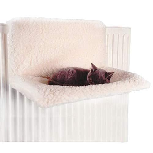 Anjing Radiador de lujo suave lavable para gato, cama estilo hamaca