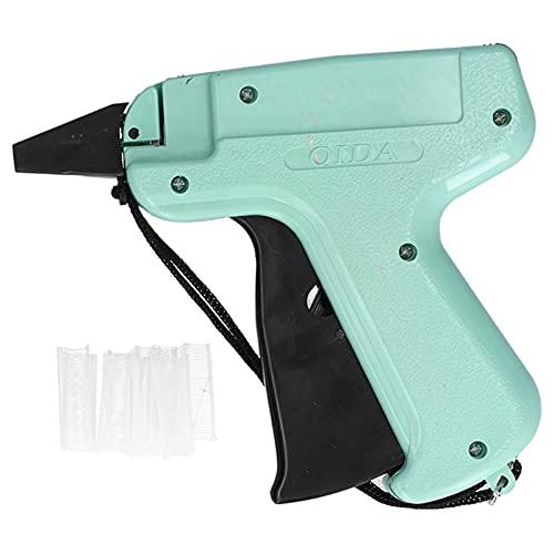 Etiquete el arma del sujetador, etiquetadora manual de la ropa verde que ahorra trabajo para la etiqueta de precio