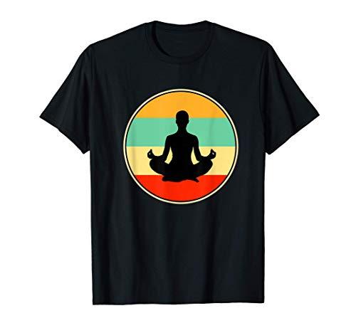 Camicia di yoga divertente - Regalo sportivo vintage retrò Maglietta