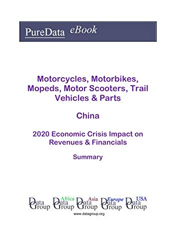 Motorcycles, Motorbikes, Mopeds, Motor Scooters, Trail Vehicles & Parts China Summary: 2020 Economic Crisis Impact on Revenues & Financials (English Edition)