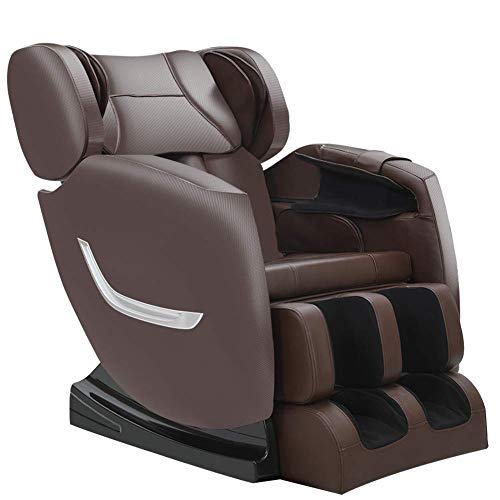 Full Body Electric Zero Gravity Shiatsu Massage Chair with Bluetooth Heating and Foot Roller for...