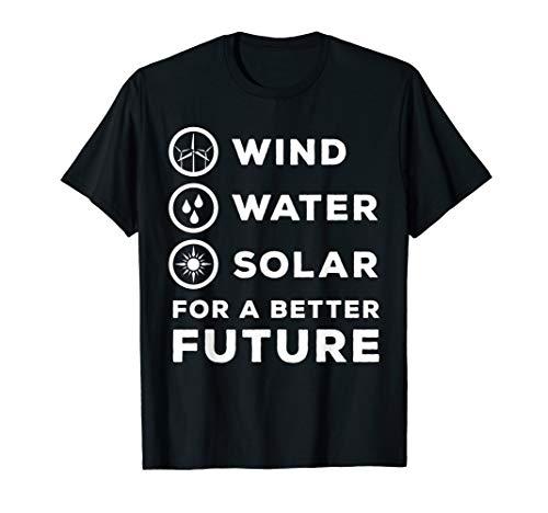 Erneuerbare Energien - Elektroingenieur Windkraft Geschenk T-Shirt