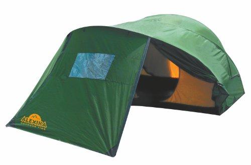 Alexika Zelt Freedom 2 Plus, grün (außen)/gelb (innen), 230x340x120 (BxLxH), 9128.2101