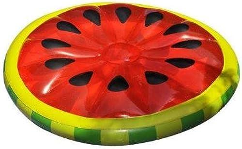 Swimline Designs Watermelon Slice aufblasbarer Island Lounger for Swimming Pools by Swimline