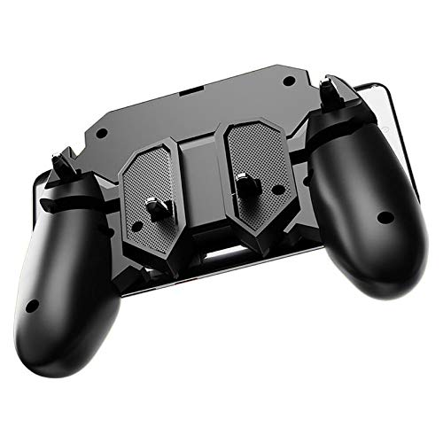 Preisvergleich Produktbild Neues Spiel Ak66 Memo Mobile Phone Game Handle Für Pubg Six Finger All-in-one Mobile Controller Joystick Gamepad L1 R1 Trigger