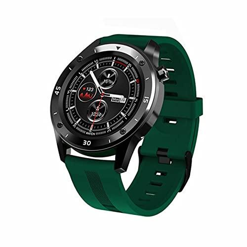 Gobutevphver Smart Watch F22 Sport Relojes Inteligentes para Hombre Mujer Regalo Inteligente Smartwatch Fitness Tracker Pulsera iOS Relojes Inteligentes inalámbricos - Verde