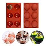 Cake Pop Mold, Cupcake Baking Mold Hot Chocolate Bomb Molds Silicone for Birthday Party Wedding...