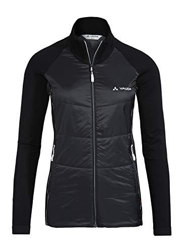 VAUDE Damen Jacke Larice LesSeam , Skitourenjacke aus innovativem Rundstrick, black, 42/44, 41712